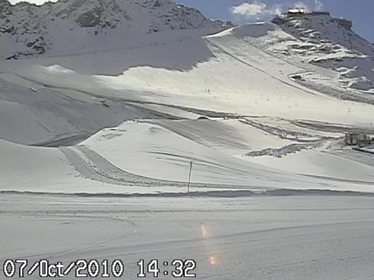 Snowpark Val Senales