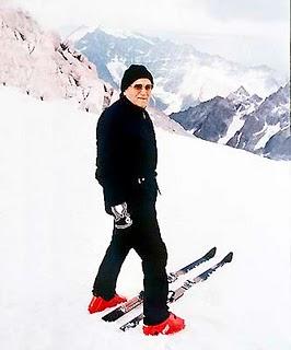 karol wojtyla sugli sci