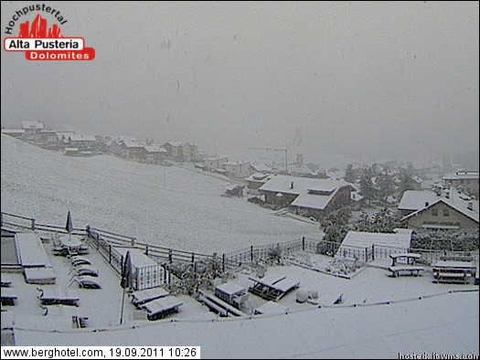 Neve anche a San Candido