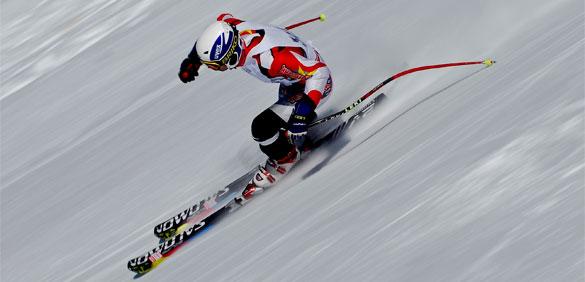sciatore cervinia