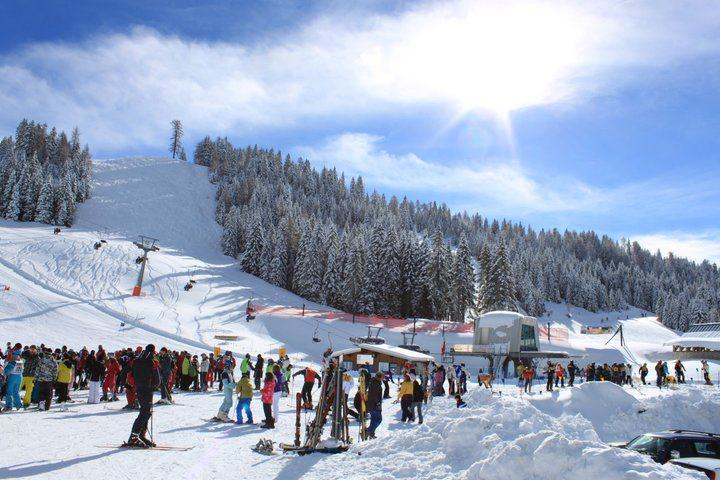 Prime sciate ad Asiago, impianti aperti al Verena