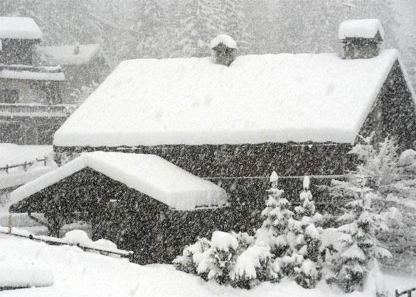 """""""Troppa Neve"""" in Valle d'Aosta, il rischio valanghe è Altissimo"""