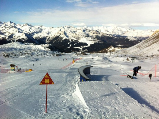 Snowpark campiglio