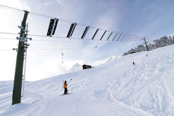 skilift energia solare
