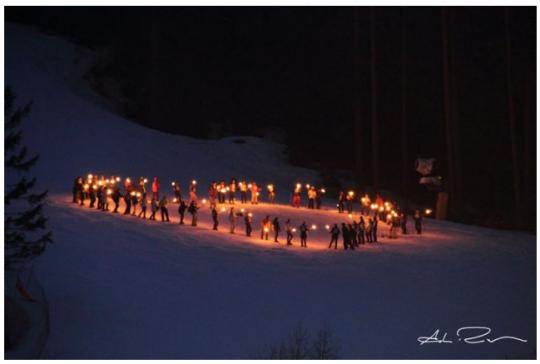 Magica Notte nelle Dolomiti a Madonna di Campiglio