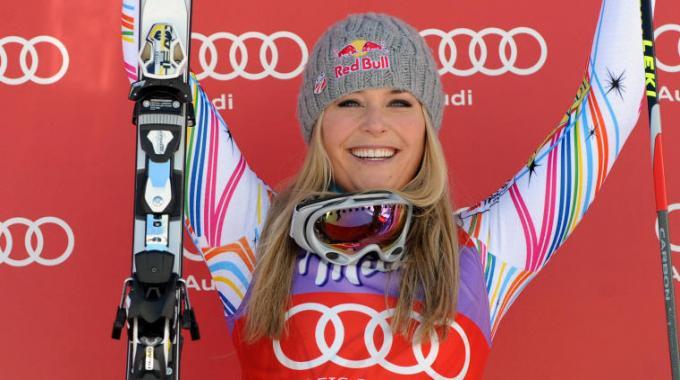 Lindsey Vonn vince per la 4a volta la Coppa del Mondo di Sci Alpino