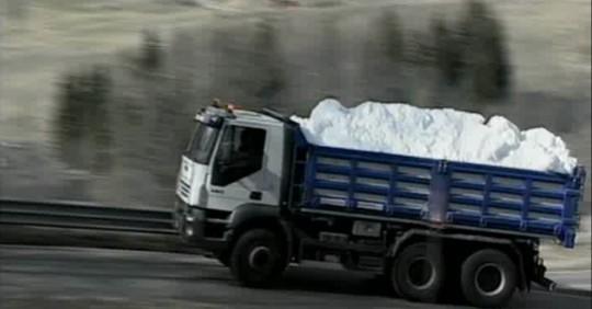 camion neve faloria