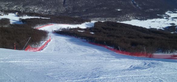 piste da sci sud america