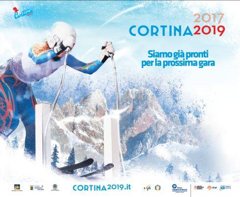 Cortina punta ai Mondiali di Sci del 2019