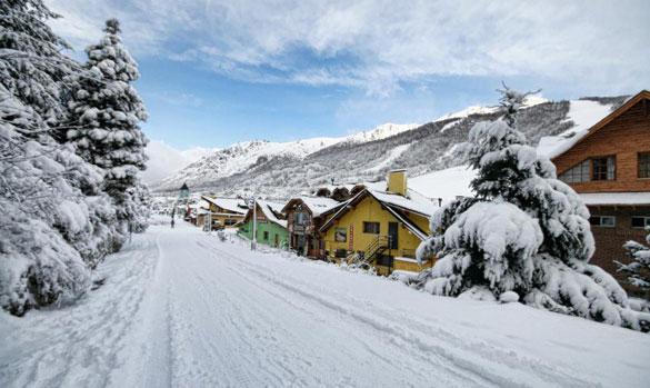 In Italia 40 gradi, in Sud America 230cm di Neve