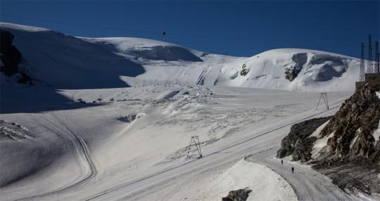 Plateau Rosa' al 20 Luglio 2012