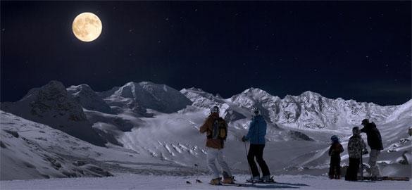 sciare-di-notte