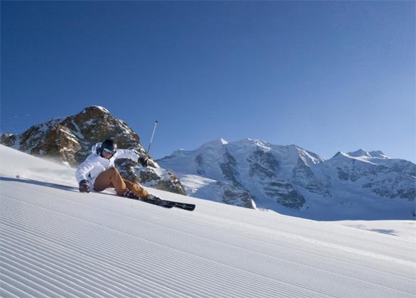 Sciare in Engadina: Impianti sciistici aperti dal 20 ottobre sul Diavolezza