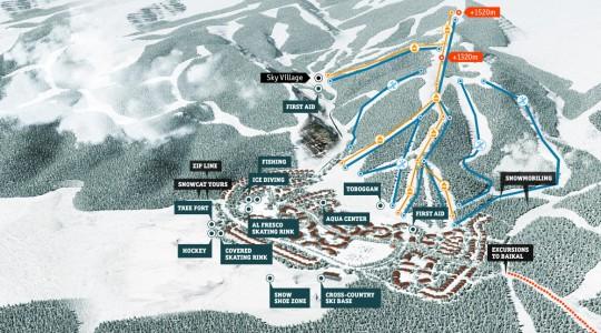 Skimap Baikal Ski Resort