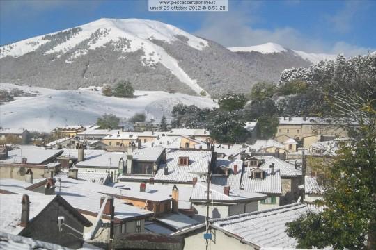 Neve Appennini 29 ottobre 2012