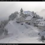 monte lussari nevicata 28-29 ottobre 2012