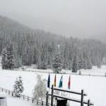 Nevica su tutte le Alpi anche sotto i 1000m di quota