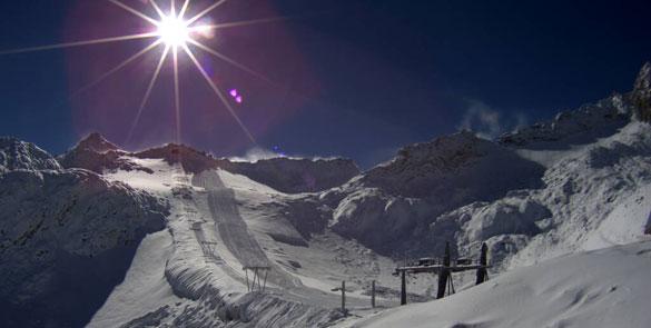Apertura rinviata per il Ghiacciaio Presena in attesa della neve