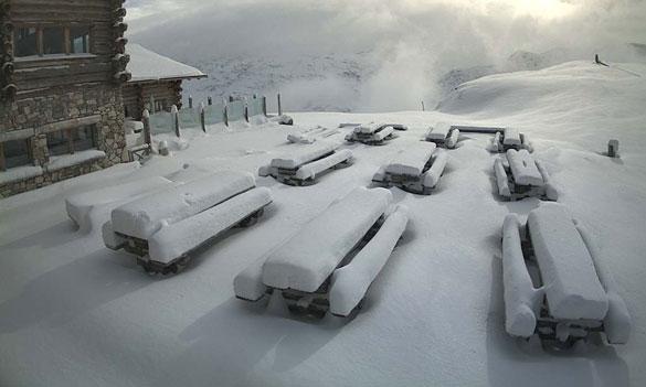 Neve su Alpi ed Appennini, fino ad 80cm di fresca e nevicate anche a 400m