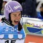 Tina Maze domina lo Slalom Gigante di Soelden