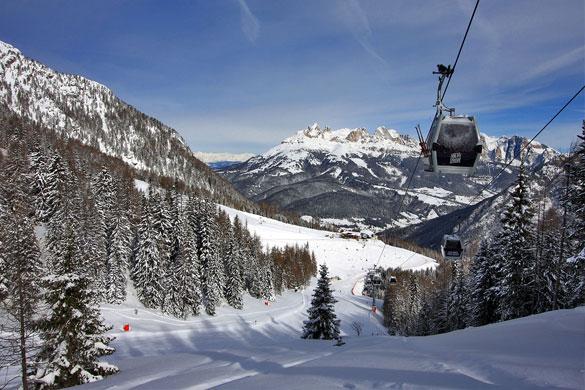 Neve fresca sulle piste, Passo San Pellegrino apre il sabato 1 dicembre