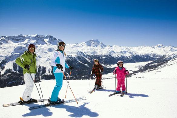 Engadina: Skipass Scontati per le vacanze sulla neve in famiglia
