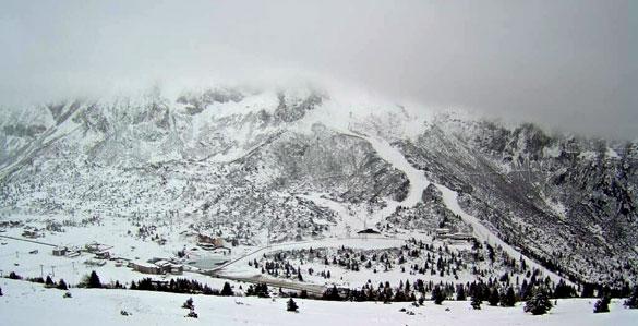 Lo Scirocco porta la Neve in Alta Montagna