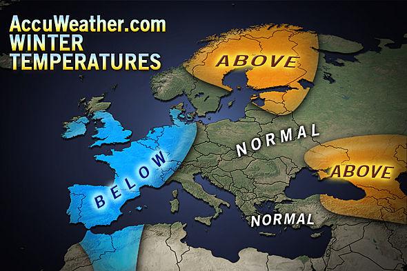 previsioni temperature inverno 2012 2013