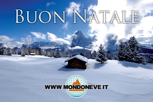 Buon Natale e Felice 2013 da MondoNeve.it