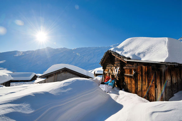 Natale con zero termico a 3000 metri, Neve in arrivo per Santo Stefano