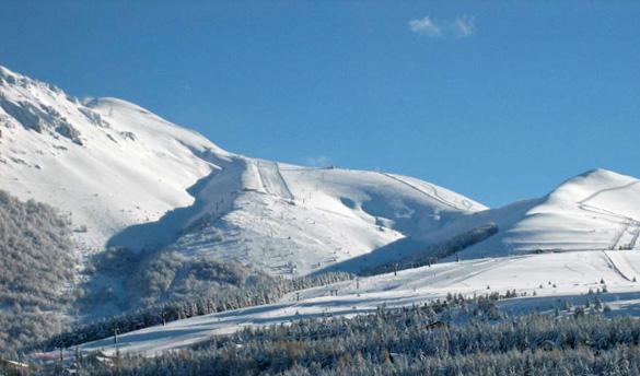 sciare appennini