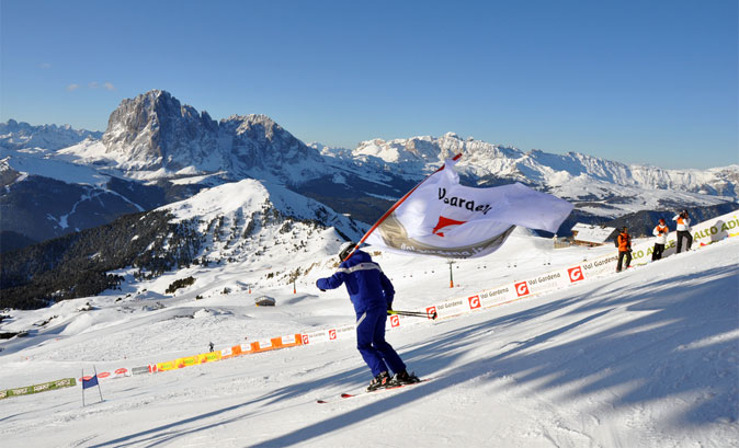 Südtirol Gardenissima 2013, lo slalom gigante più lungo del mondo