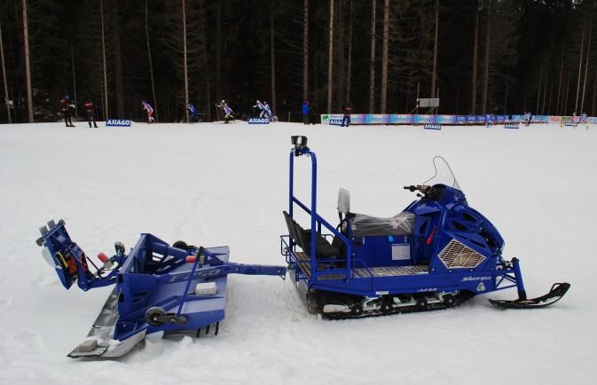 motoslitta alpina snowmobiles asiago
