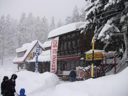 Abetone - Nevicata del 16 gennaio 2013