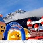 Nevelandia, il parco giochi per bambini sulla neve delle Dolomiti