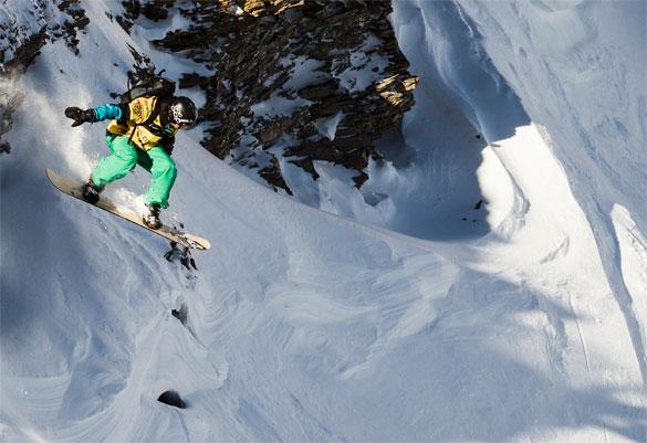 snowboard monte bianco