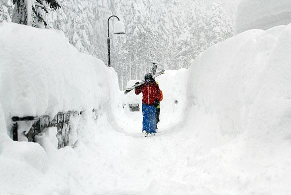 Previsioni neve: ritorna l'inverno e le nevicate a bassa quota