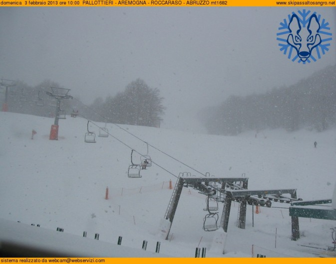 Nevicata a Roccaraso