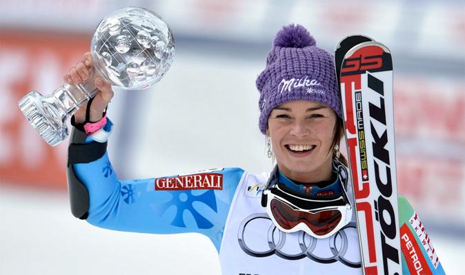 Tina Maze vince la Coppa del Mondo di Sci Alpino 2013