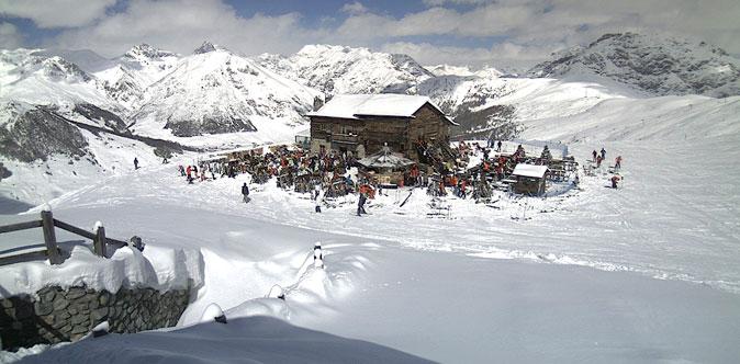 Neve di primavera sulle Alpi, anche a bassa quota, nel week-end delle Palme