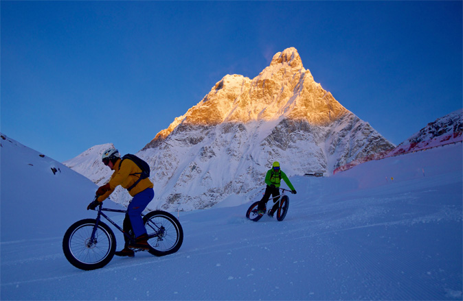 mountain bike cervinia