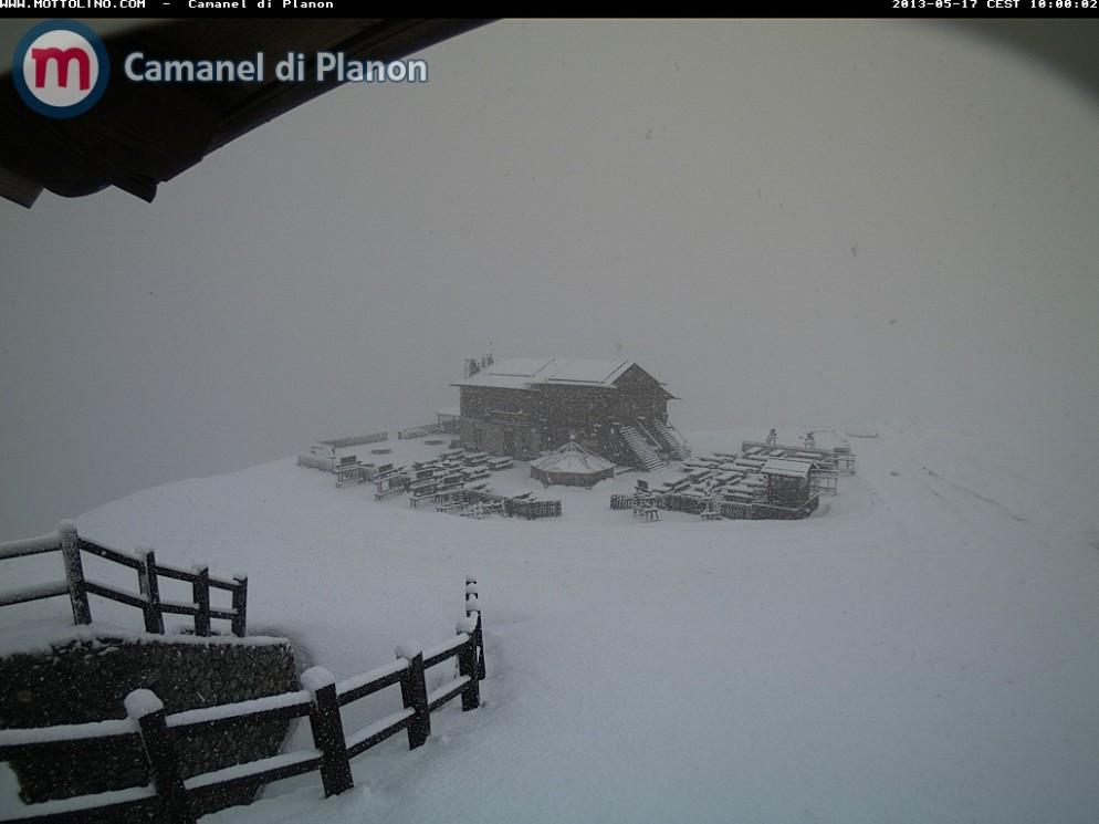 Alpi sotto la Neve a metà Maggio