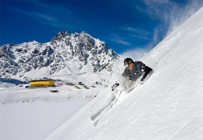 Arriva la Neve in Sud America, al via la stagione sciistica 2013