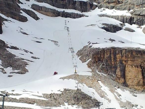 Sci Estivo a Cortina, impianti aperti da sabato 29 giugno
