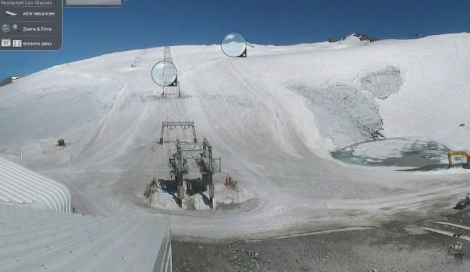 Les 2 Alpes a fine Luglio 2013