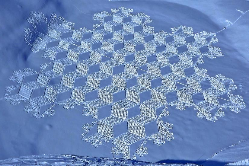 Cerchi nella Neve, creazione umana o degli UFO?