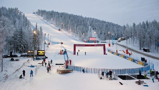A Levi, in Finlandia, tutto pronto la Coppa del Mondo di Sci