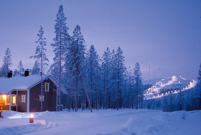 panorama levi lapponia finlandia