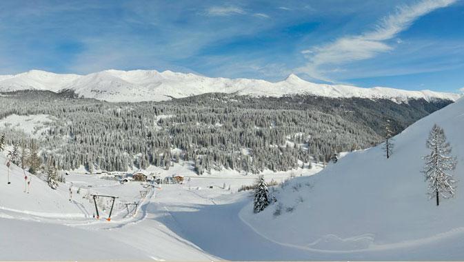 panorama passo monte croce