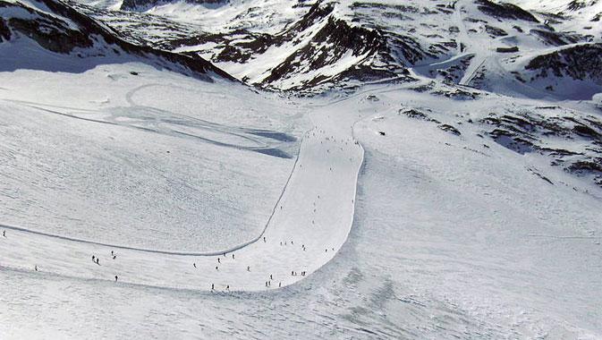 Cervinia, giovedì 14 novembre apre il versante Italiano con la pista Ventina